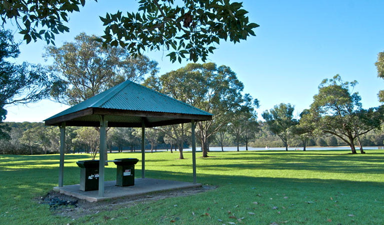 Morgans Creek picnic area, Georges River National Park. Photo: John Spencer