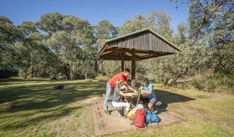 Dandahra picnic area, Gibraltar Range National Park. Photo: Rob Cleary