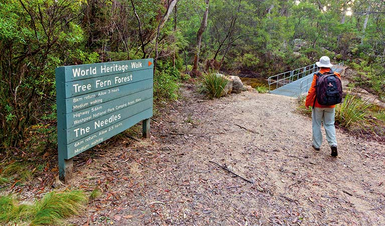 World Heritage Walk, Gibraltar-Range National Park. Photo: Rob Cleary