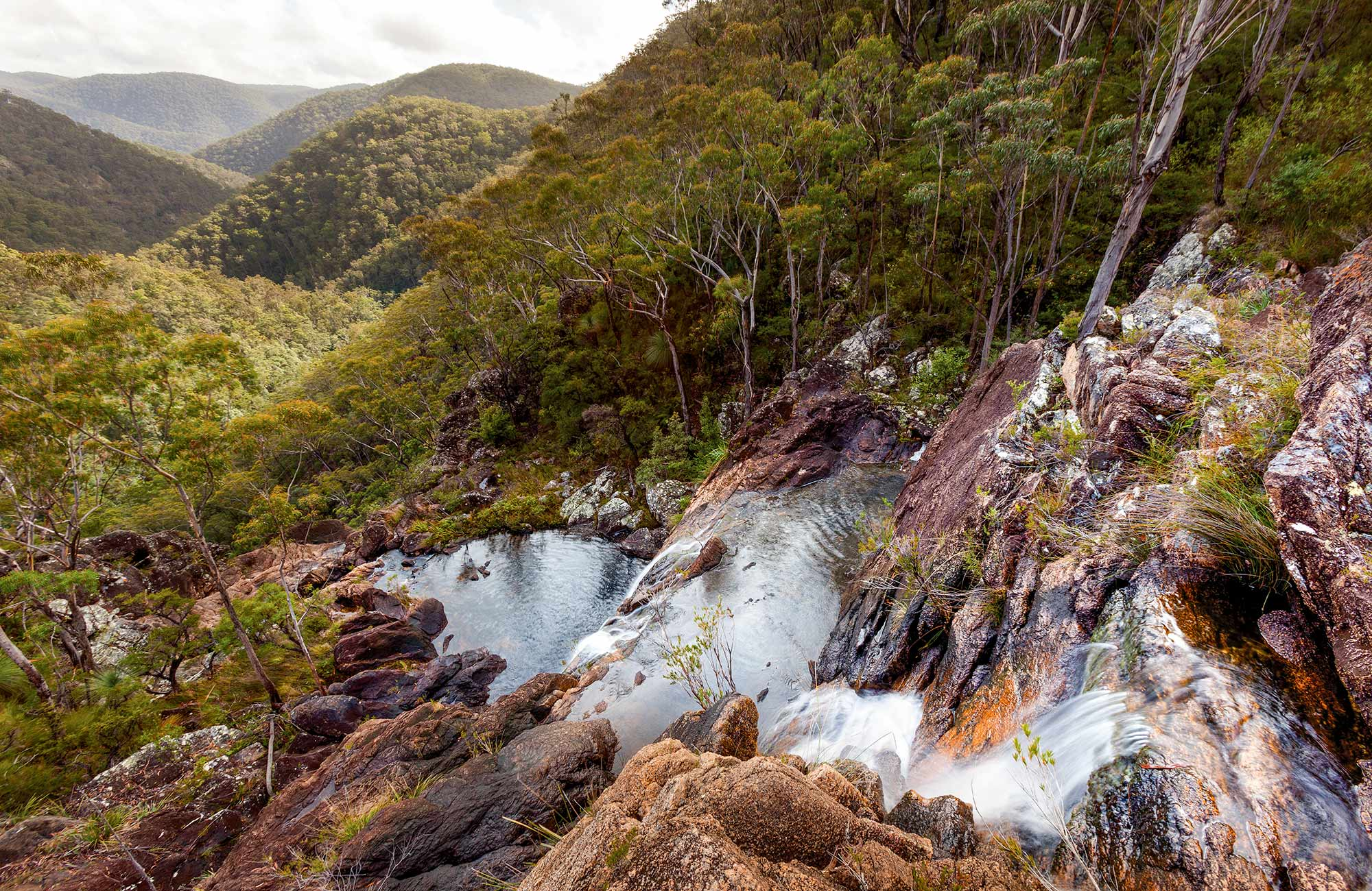 Duffer Creek walk, Gibraltar Range National Park. Photo: Rob Cleary