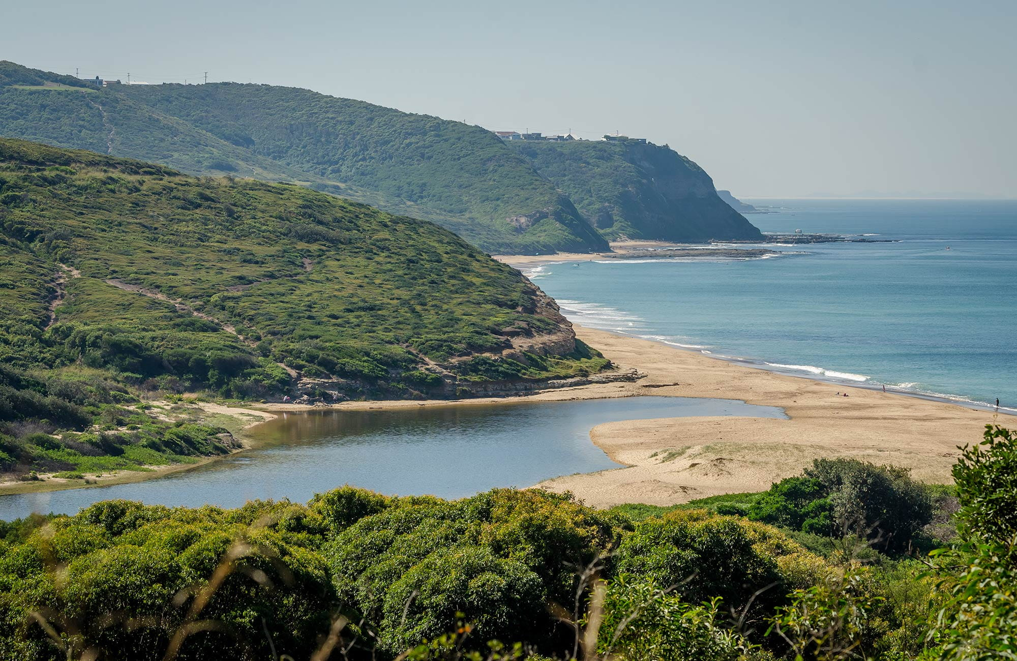 Leggy Point loop walking track, Glenrock State Conservation Area. Photo: John Spencer