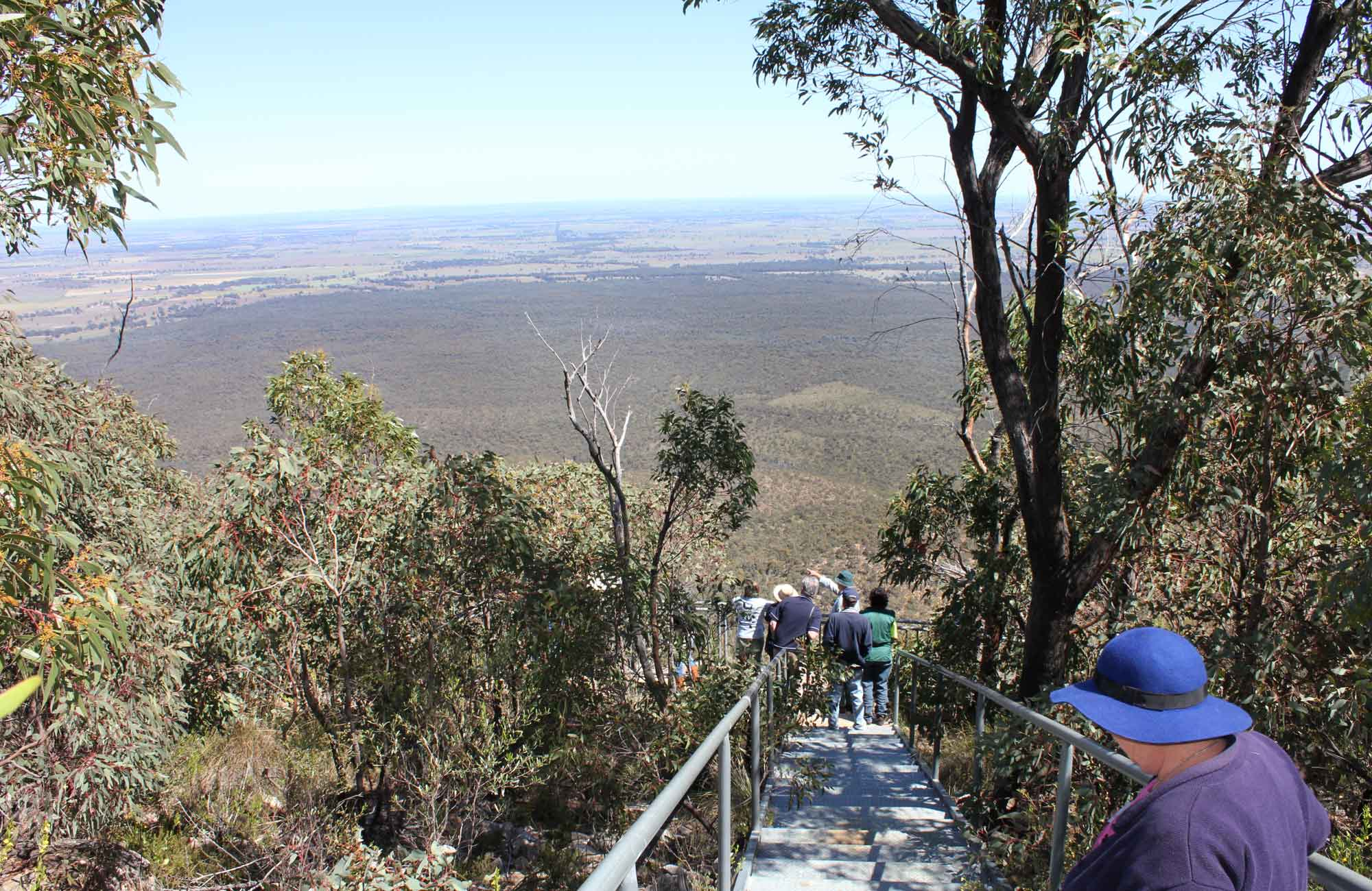 Caloma lookout hero, Goobang National Park. Photo: C Davis