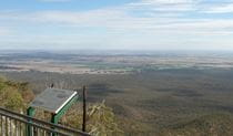 Caloma lookout, Goobang National Park. Photo: A Lavender