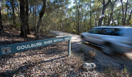Spring Gully drive, Goulburn River National Park. Photo: Nick Cubbin