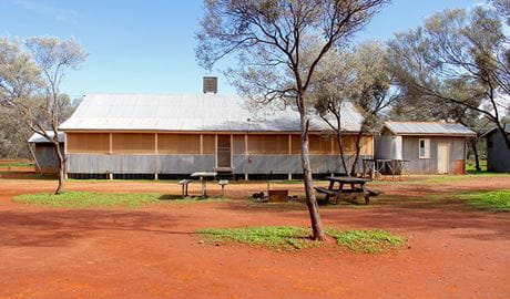 Belah Shearers' Quarters, Gundabooka National Park. Photo: John Yurasek/NSW Government