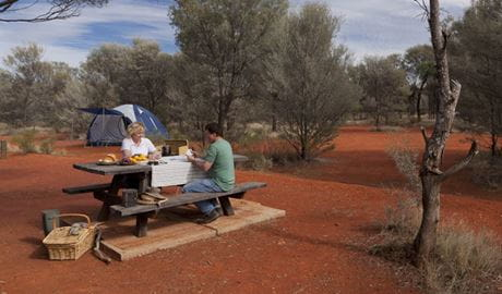 Dry Tank campground, Gundabooka National Park. Photo: David Finnegan/DPIE