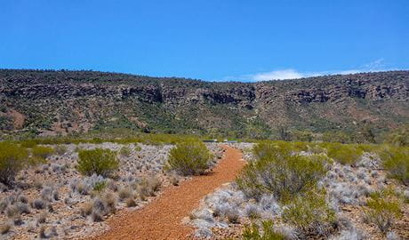 Valley of the Eagles walk, Gundabooka National Park. Photo: John Good