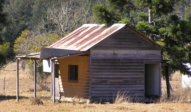 Dalmorton Shop, Guy Fawkes River National Park. Photo: S Leathers/NSW Government