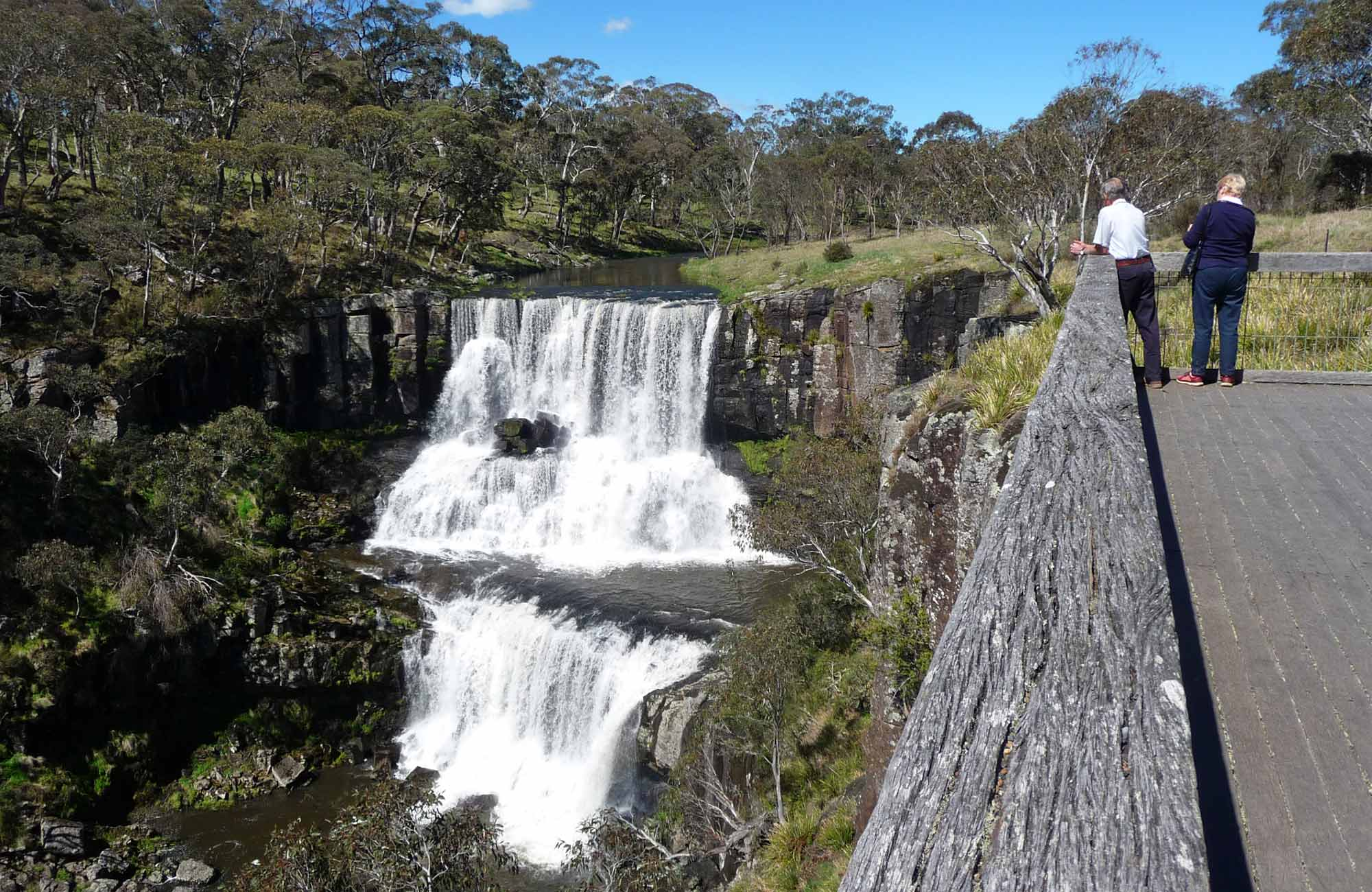 Ebor Falls Lookout, Guy Fawkes River National Park. Photo: NSW Government
