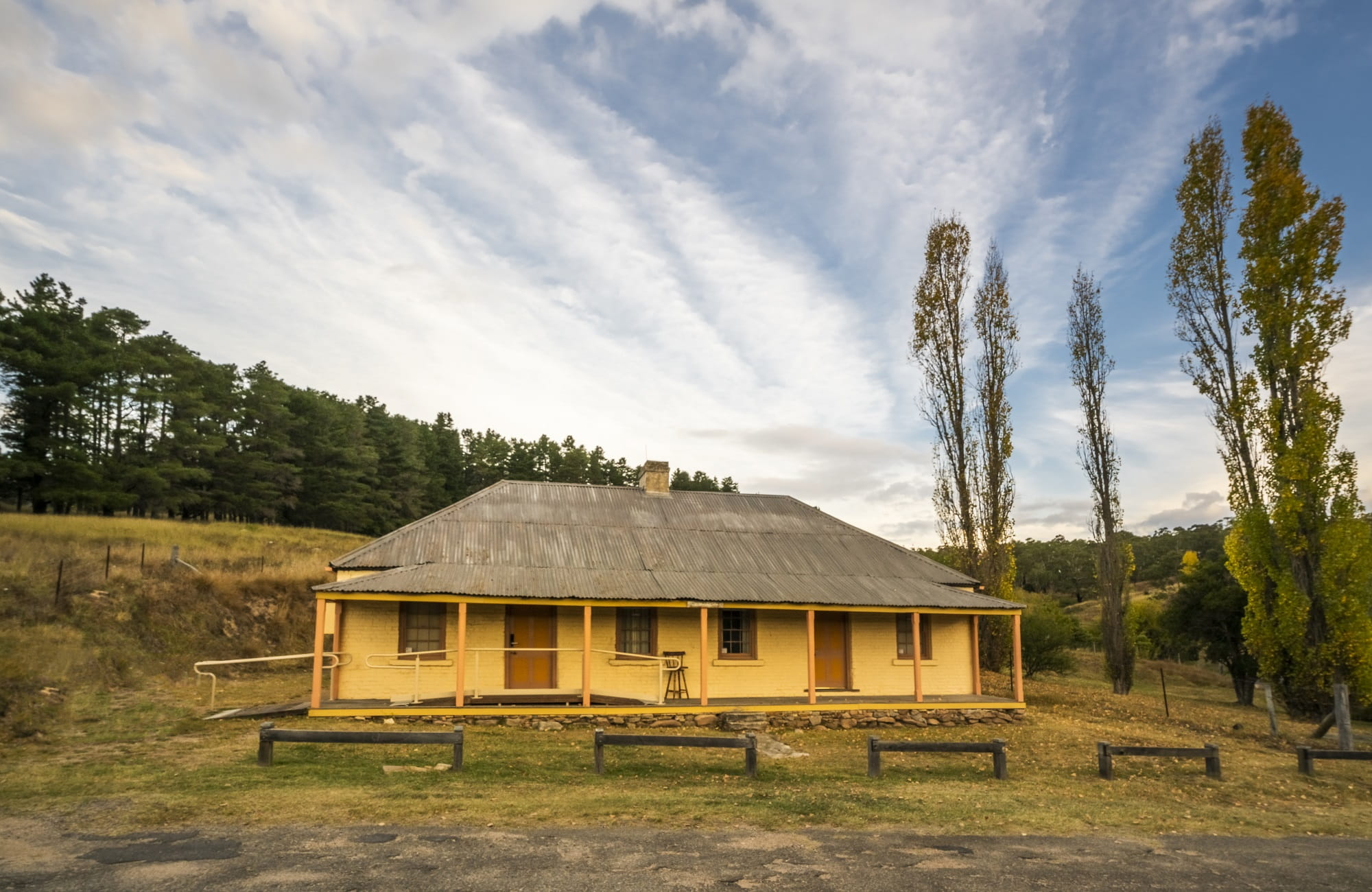 Old Trahlee, Hartley Historic Site. Photo: John Spencer/OEH