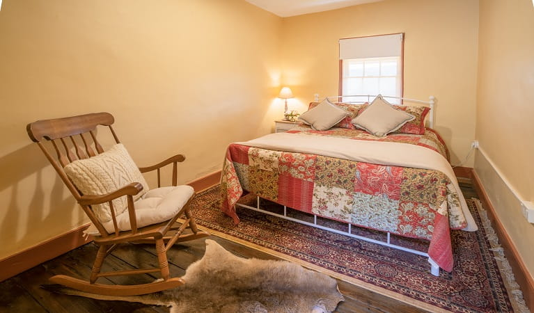 Bedroom at Old Trahlee, Hartley Historic Site. Photo: John Spencer/OEH