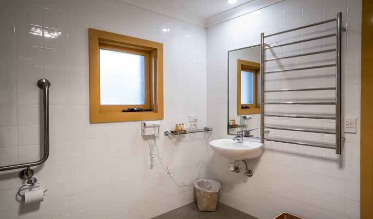 Bathroom at Old Trahlee, Hartley Historic Site. Photo: John Spencer/OEH