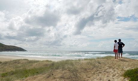 The beach near Hungry Gate campground in Hat Head National Park. Photo: Debby McGerty © Debby McGerty