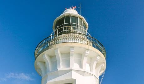 Smoky Cape Lighthouse, Hat Head National Park. Photo: David Finnegan/NSW Government