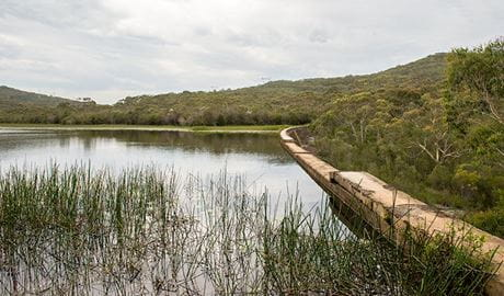 Lake Toolooma trail, Heathcote National Park. Photo: John Spencer