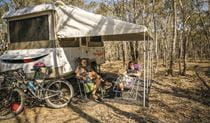 Campers at Glendora campground. Photo: Debby McGerty Copyright:NSW Government