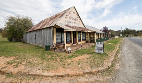 Great Western Store, Hill End Historic Site. Photo: John Spencer.