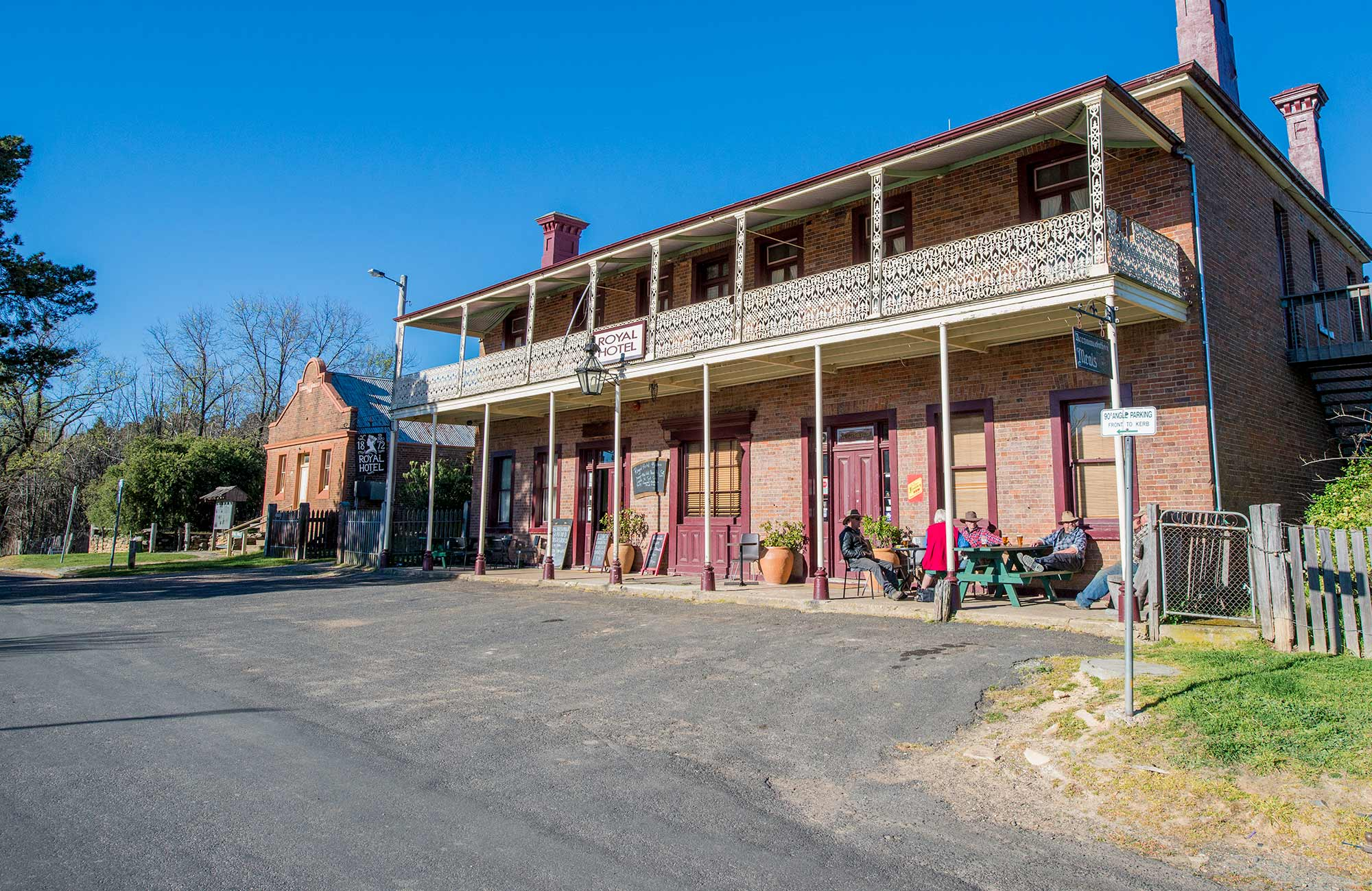 Royal Hotel, Hill End Historic Site. Photo: John Spencer