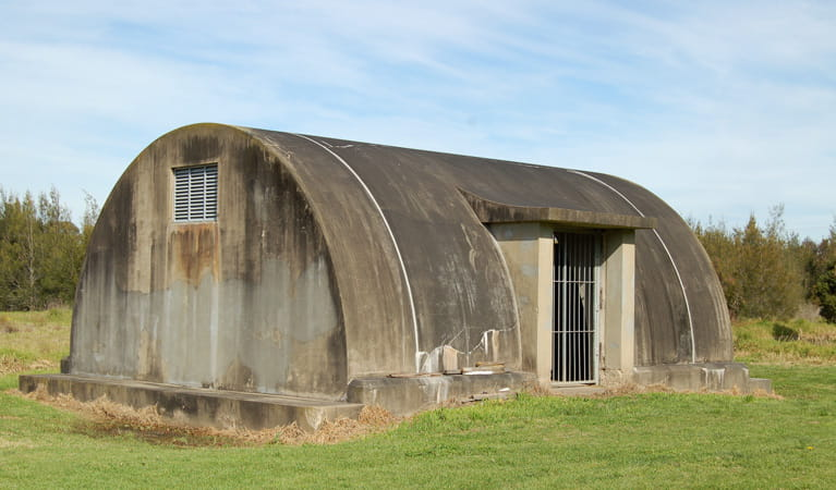 WWII Radar Station, Hunter Wetlands National Park. Photo: Susan Davis/NSW Government