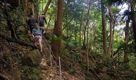 Hiking, Illawarra Escarpment State Conservation Area. Photo: John Spencer