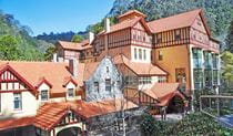 Exterior of historic Jenolan Caves House accommodation in Jenolan Karst Conservation Reserve. Photo: Keith Maxwell, A Shot Above Photography