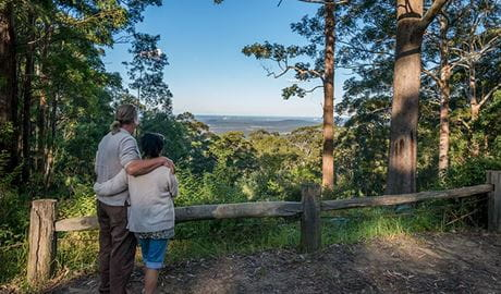 Muirs lookout, Jilliby State Conservation Area. Photo: John Spencer