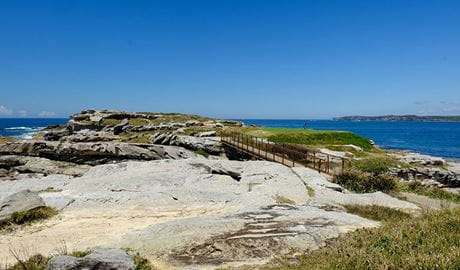 Cape Banks headland, La Perouse, Kamay Botany Bay National Park. Photo: E Sheargold/OEH