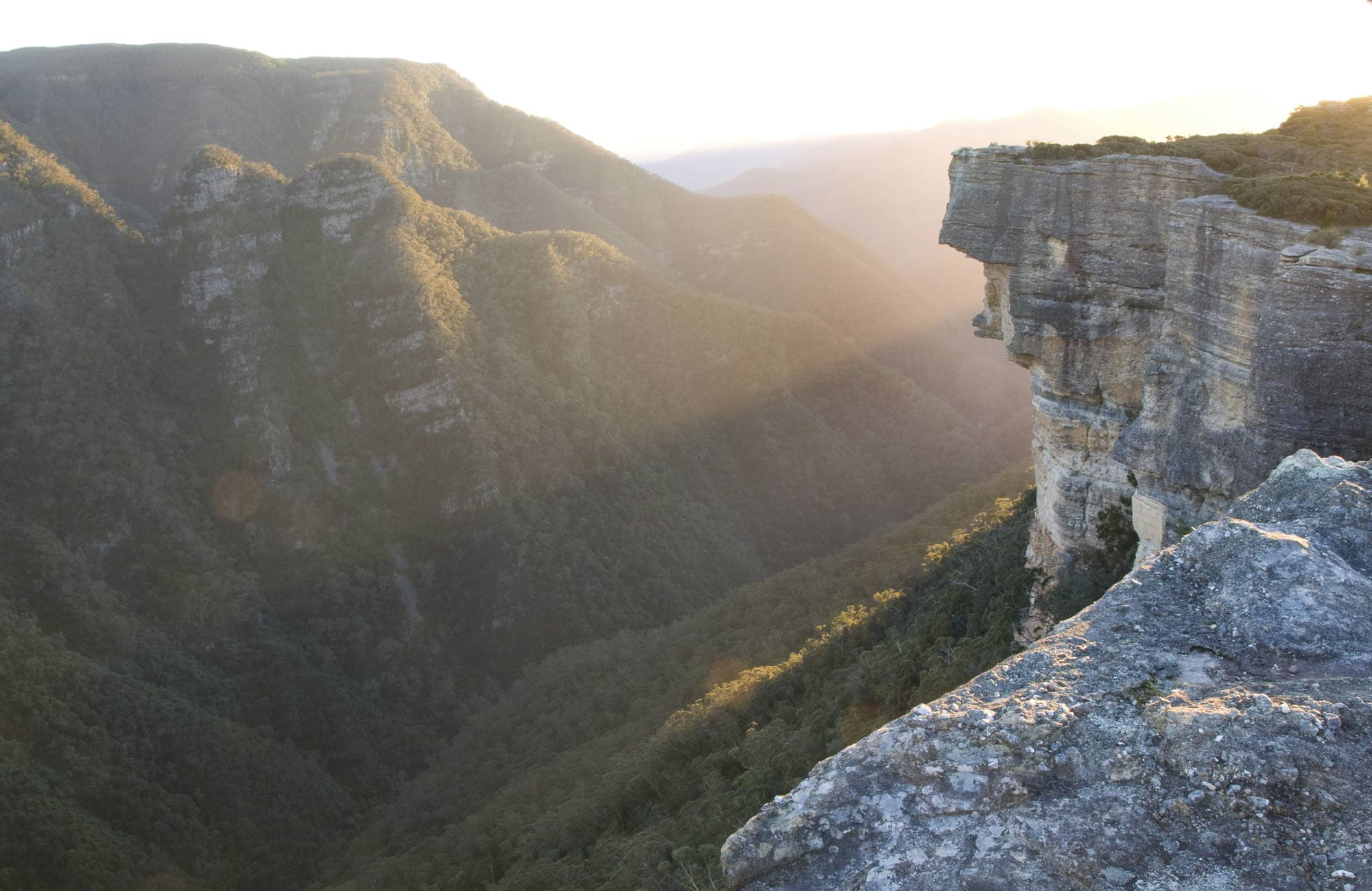 Kanangra-Boyd Lookout, Kanangra-Boyd National Park. Photo: NSW Government