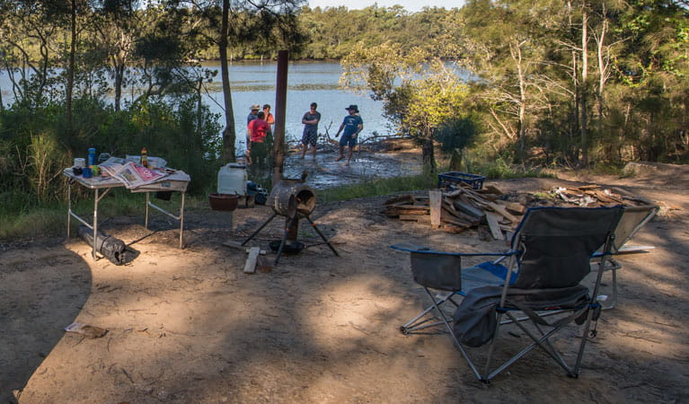 Double Wharf picnic area, Karuah National Park. Photo: John Spencer/NSW Government