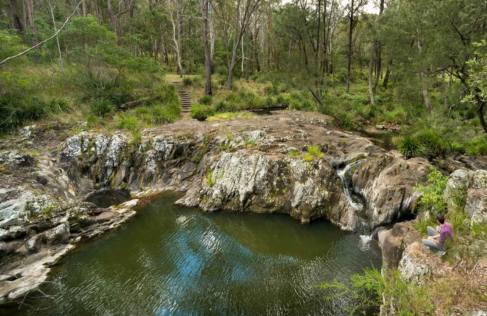 Gorge walking track, Koreelah National Park. Photo: David Young