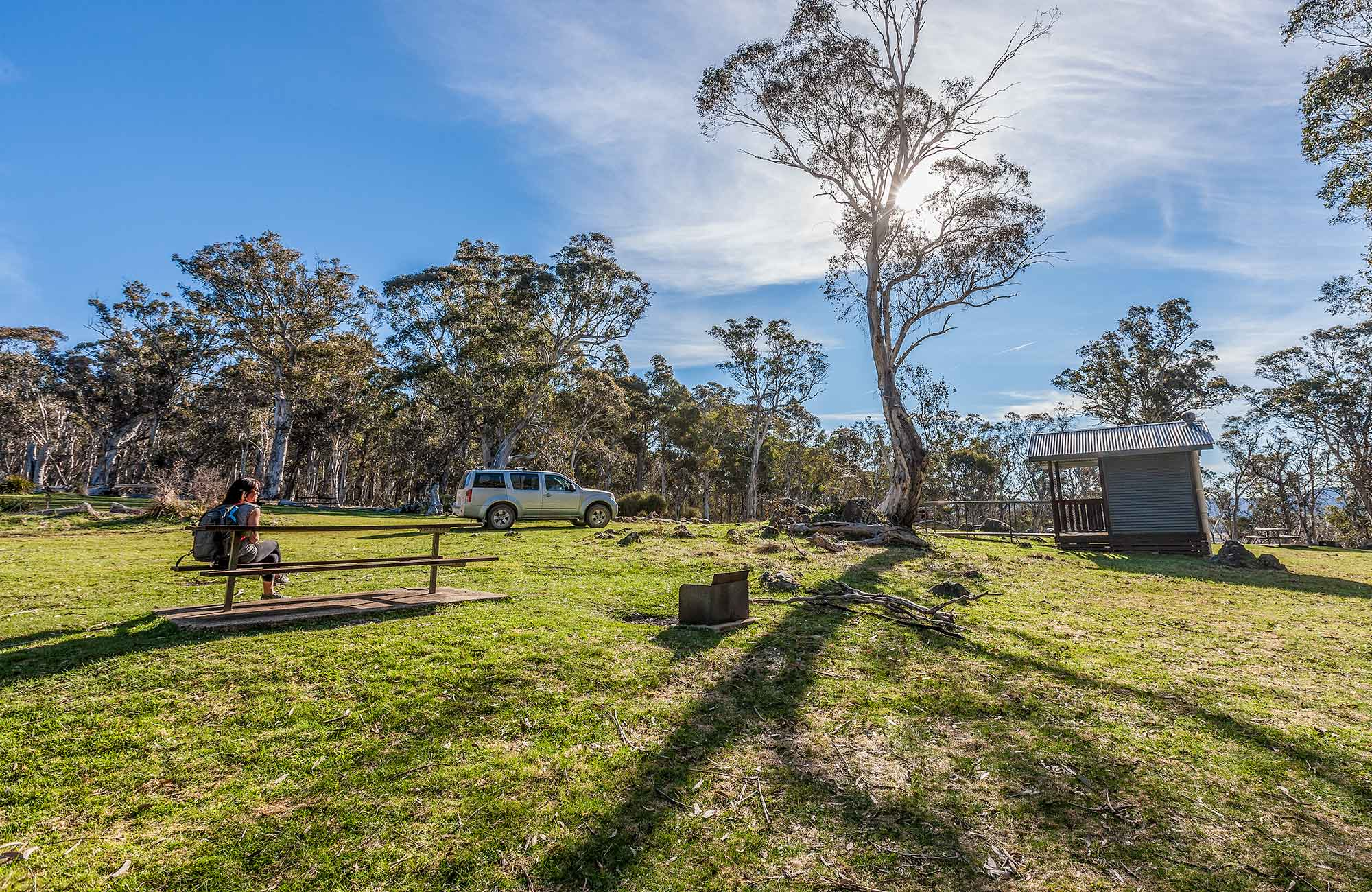 Cooleman Mountain campground, Kosciuszko National Park. Photo: Murray Vanderveer