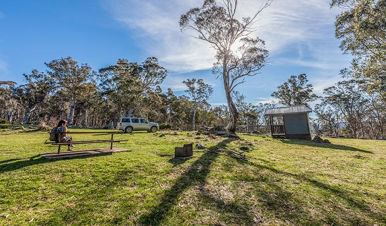 Cooleman Mountain campground, Kosciuszko National Park. Photo: Murray Vanderveer/NSW Government