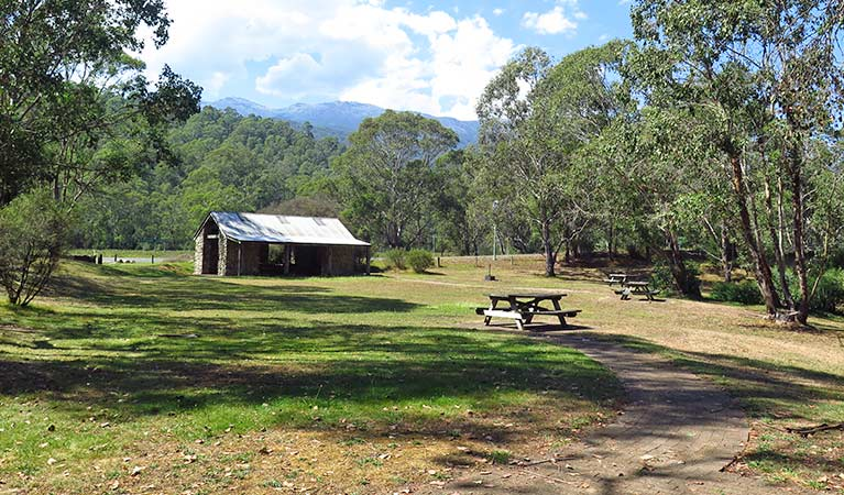 Geehi Flats picnic area, Kosciuszko National Park Photo: Elinor Sheargold