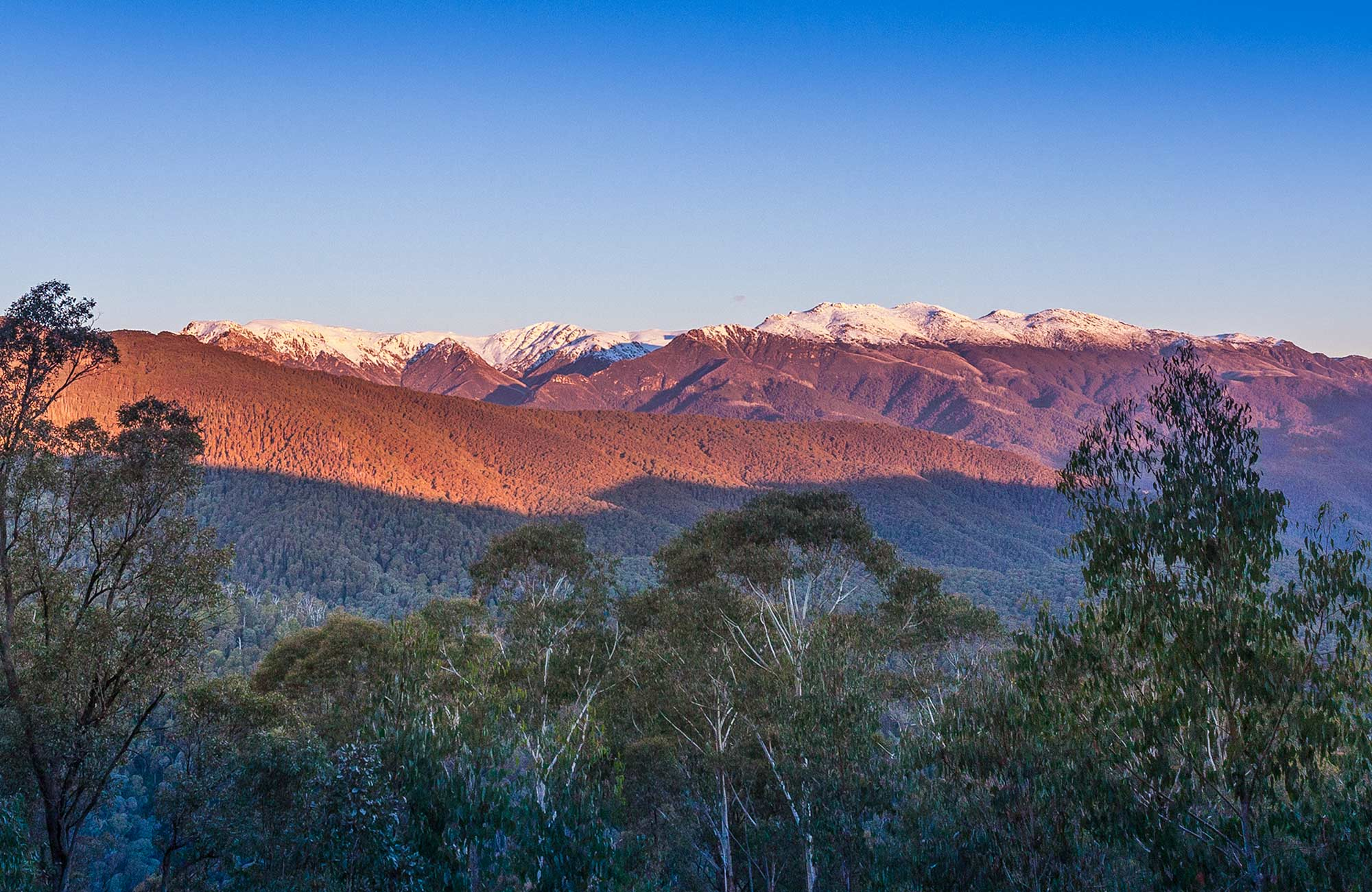 Scammells lookout, Kosciuszko National Park. Photo: Murray Vanderveer