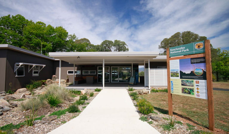Khancoban Visitor Centre, Kosciuszko National Park. Photo: Elinor Sheargold/OEH