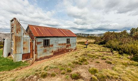 Round Mountain Hut walking track, Kosciuszko National Park. Photo: Murray Vanderveer