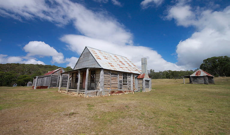 Coolamine Homestead, Kosciuszko National Park. Photo: Elinor Sheargold/OEH
