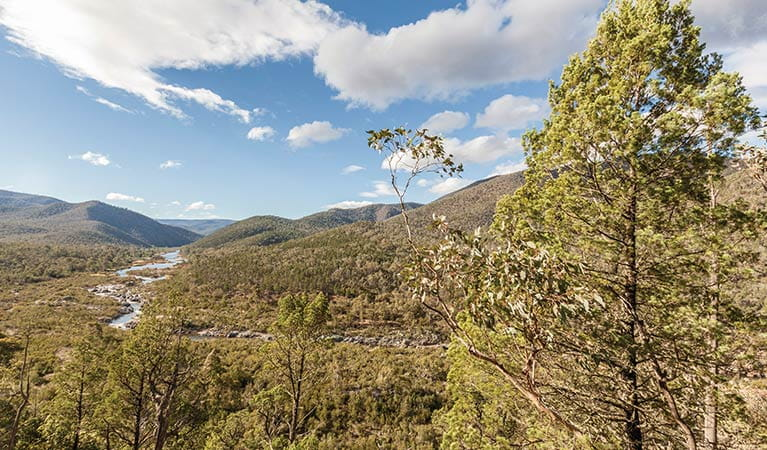 Lower Snowy River valley, Kosciuszko National Park. Image: Murray Vanderveer/DPIE