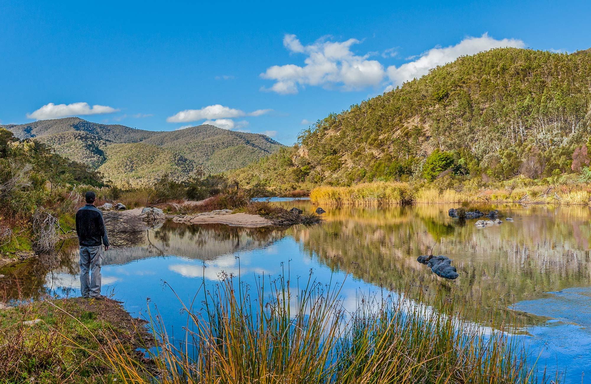 Halfway Flat campground, Kosciuszko National Park. Photo: Murray Vanderveer/DPIE