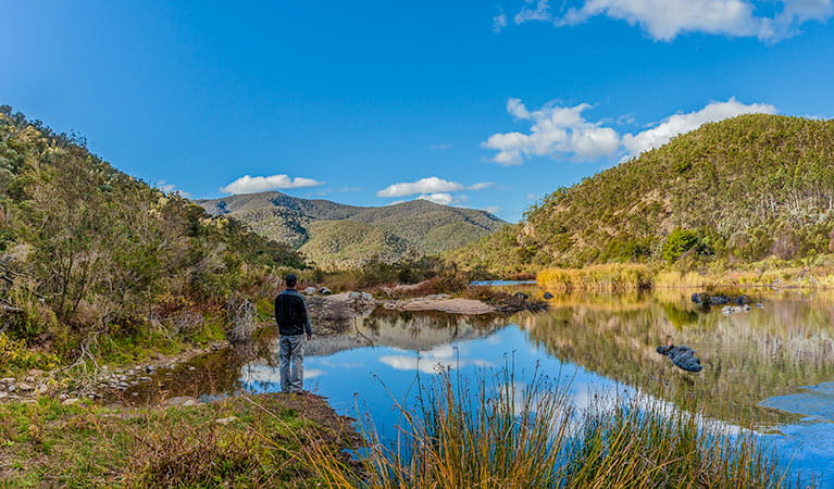 Halfway Flat campground, Kosciuszko National Park. Photo: Murray Vanderveer