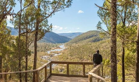 Jacks lookout, Kosciuszko National Park. Photo: Murray Vanderveer/DPIE