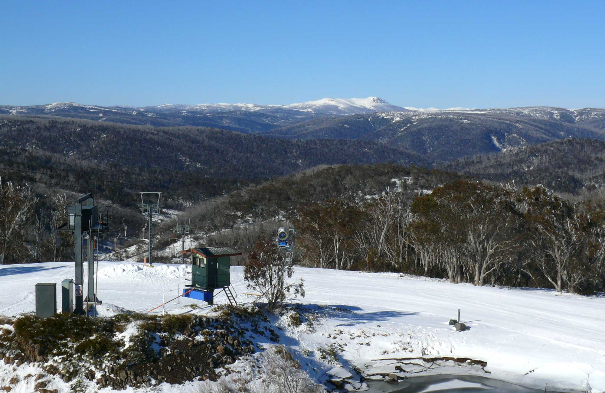 Mount Selwyn Snowfields, Kosciuszko National Park. Photo: K Heatley/NSW Government