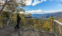 Wallace Creek lookout, Kosciuszko National Park. Photo: Murray Vanderveer