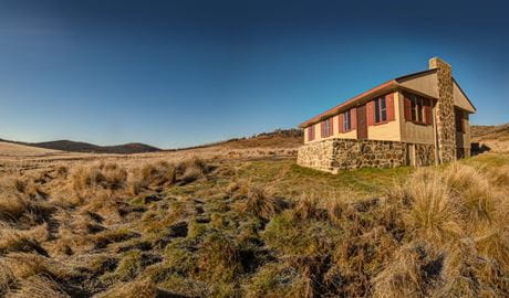 Wolgal Hut, Kosciuszko National Park. Photo: Murray Vanderveer