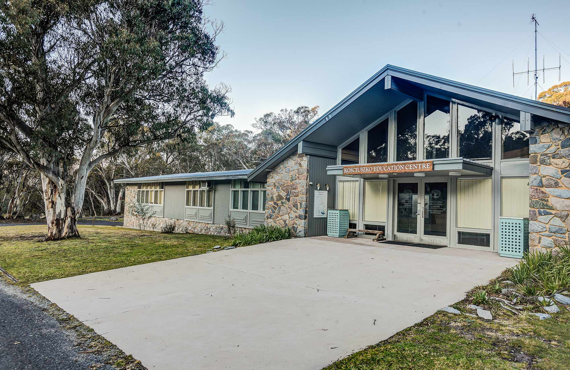 Kosciuszko Education Centre, Kosciuszko National Park. Photo: Murray Vanderveer