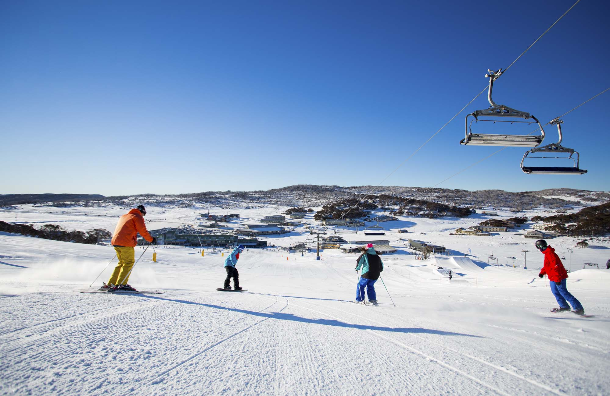 Perisher Range Ski Resort, Kosciuszko National Park. Photo: A Lloyd/Perisher