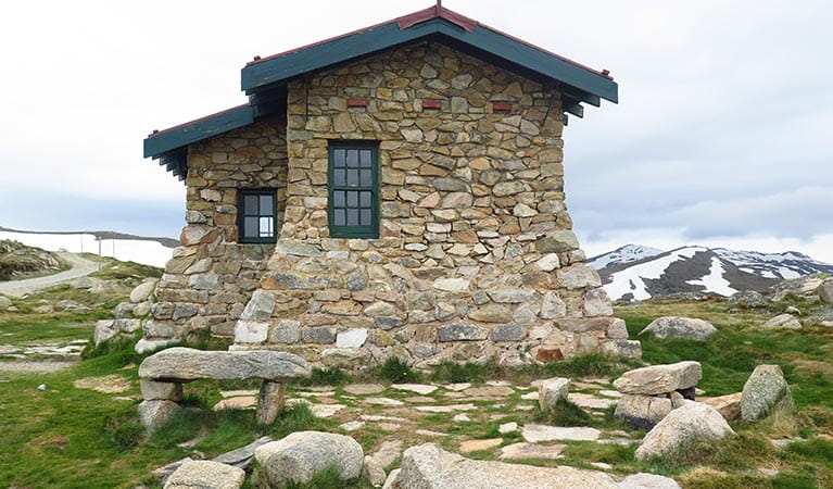 Seamans Hut, Summit trail, Kosciuszko National Park. Photo: Stephen Townsend