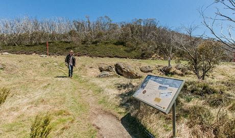 Rainbow Lake walking track, Kosciuszko National Park. Photo: Murray Vanderveer
