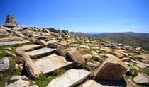 Mount Kosciuszko summit, Kosciuszko National Park. Photo: Elinor Sheargold