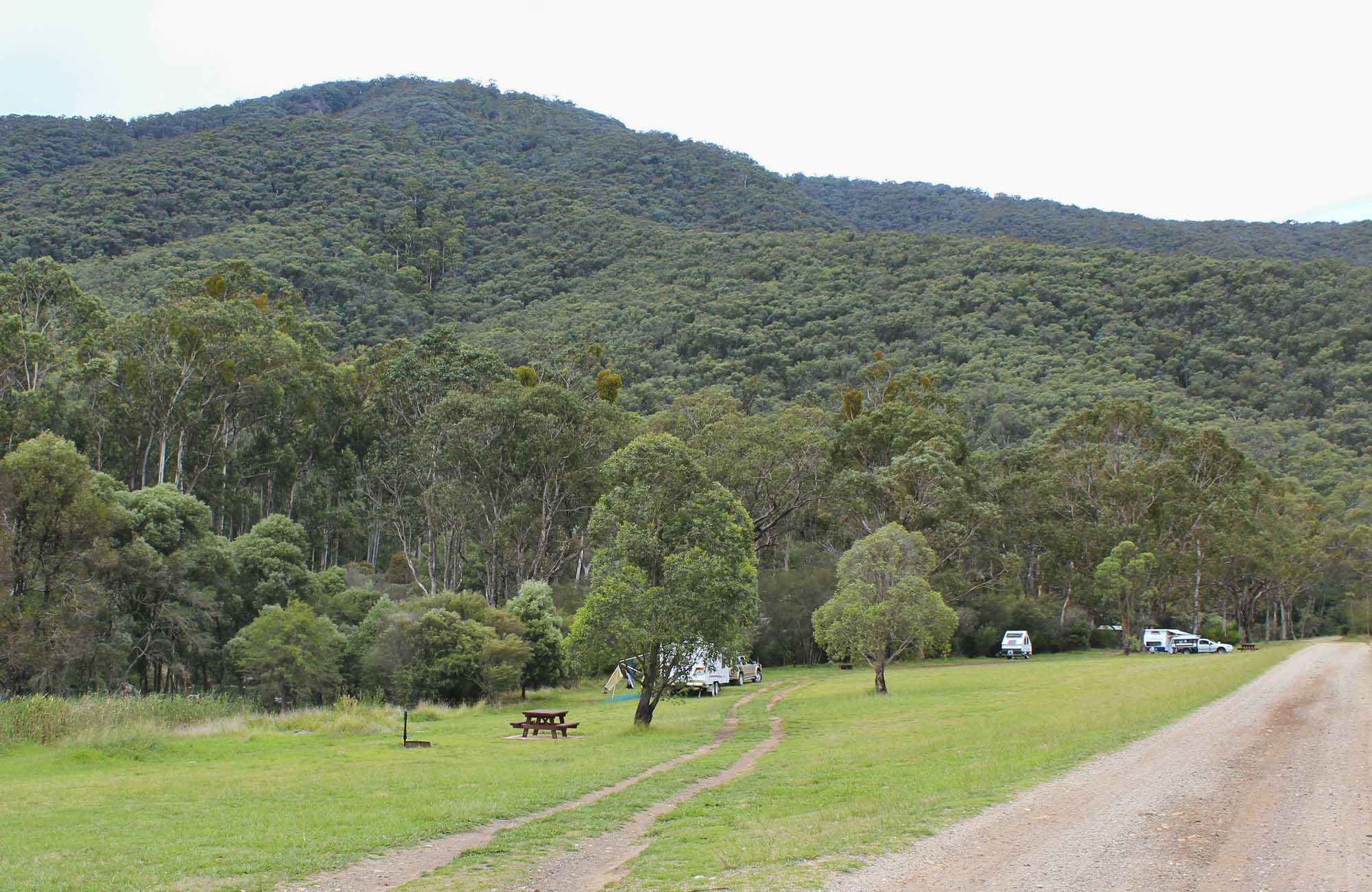 Jounama Creek campground, Kosciuszko National Park. Photo: Clint & Todd Wright/NSW Government